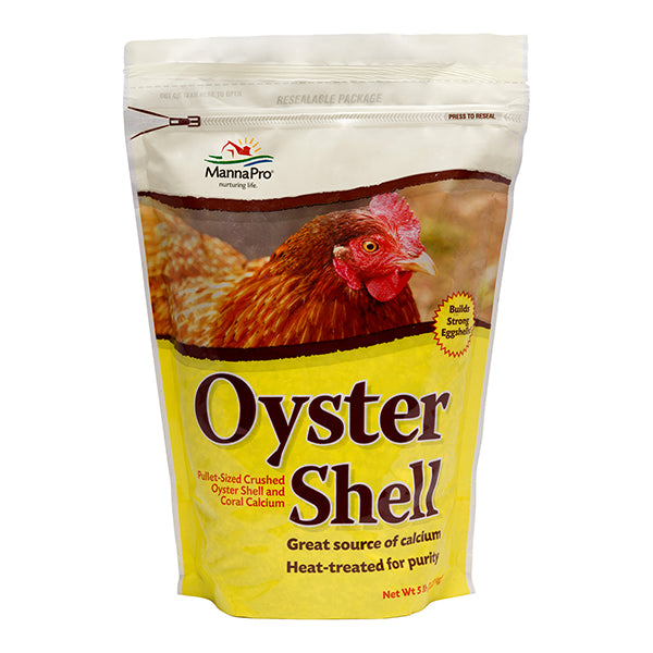 Oyster Shell Crushed Pellet-Sized Poultry Calcium Supplement