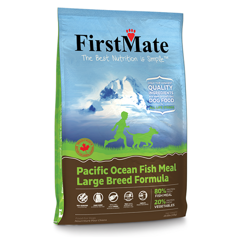 Pacific Ocean Fish Meal Formula Limited Ingredient Diet Large Breed Grain-Free Dry Dog Food