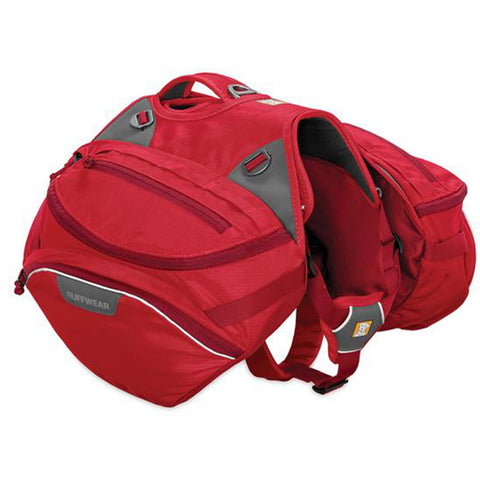 Palisades Pack Hiking Dog Backpack Red