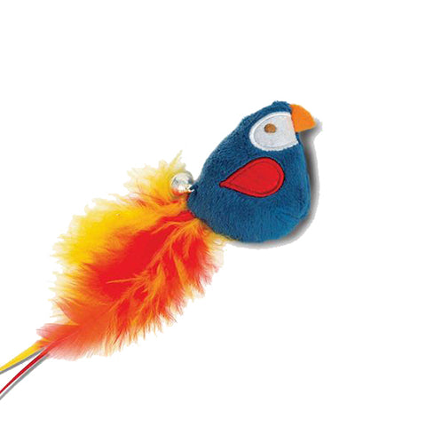 Play Pirates Catnip Plush Parrot Cat Toy