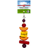 Perfect Chews Wood Hanging Small Animal Chew Toy