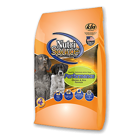 Performance Food for Extremely Active Dogs Chicken & Rice Dry Dog Food