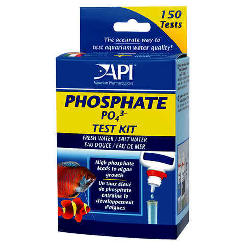 Phosphate ( PO4 ) Freshwater & Saltwater Aquarium Test Kit