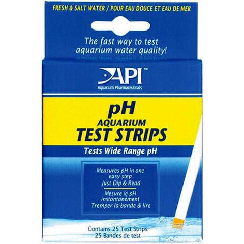 pH Aquarium Test Strips