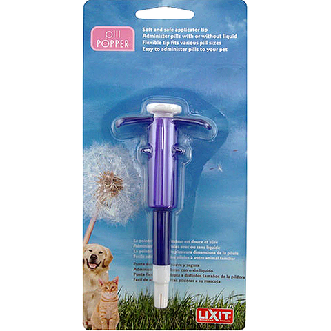Pill Popper Medication Administering Applicator for Dogs & Cats