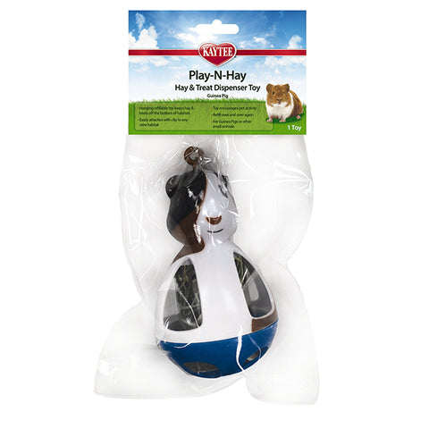 Play-N-Hay Treat Dispenser Toy for Guinea Pigs