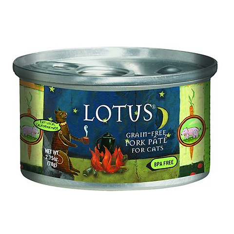 Pork & Vegetable Pate Grain-Free Wet Canned Cat Food