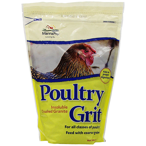 Poultry Grit with Probiotics Insoluble Crushed Granite Digestion Aid