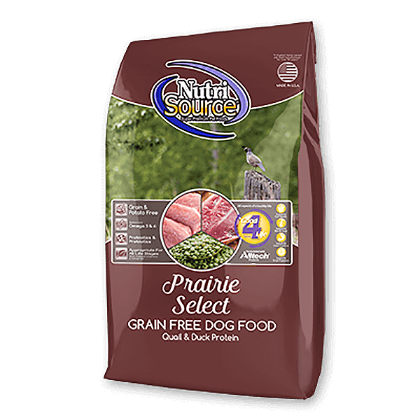 Prairie Select Quail, Duck & Turkey Grain-Free Dry Dog Food
