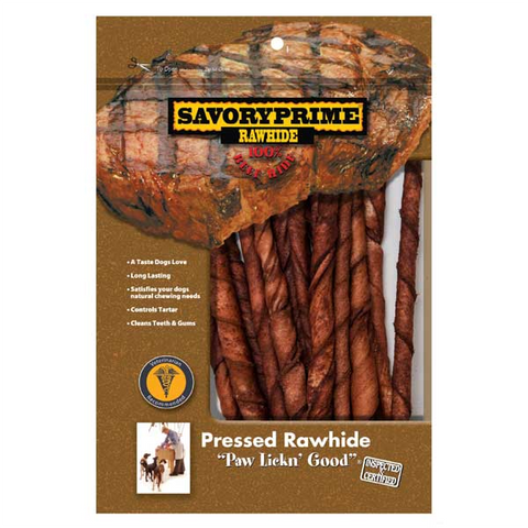 Rawhide Beef Twist Sticks