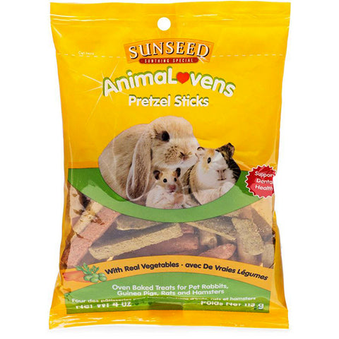 AnimaLovens Pretzel Sticks Oven Baked Small Animal Treats
