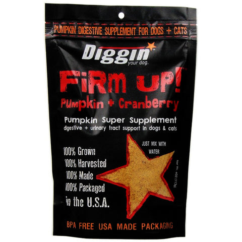 Firm Up! Pumpkin + Cranberry Dehydrated Pumpkin Super Supplement for Dogs & Cats