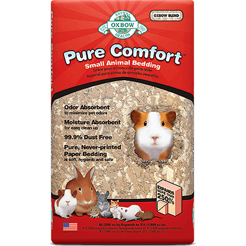 Pure Comfort Small Animal Blend Paper Bedding Substrate
