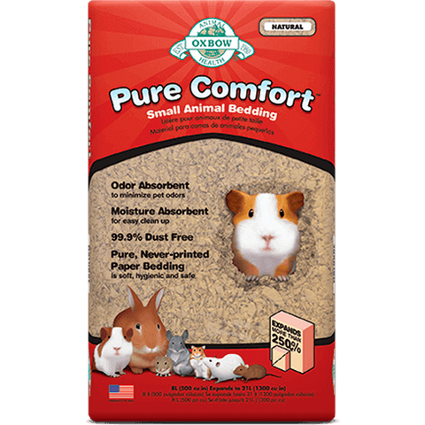 Pure Comfort Small Animal Natural Paper Bedding Substrate