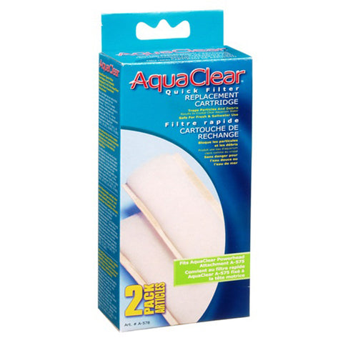 Quick Filter Refill Cartridge for AquaClear Quick Filter Powerhead Attachment