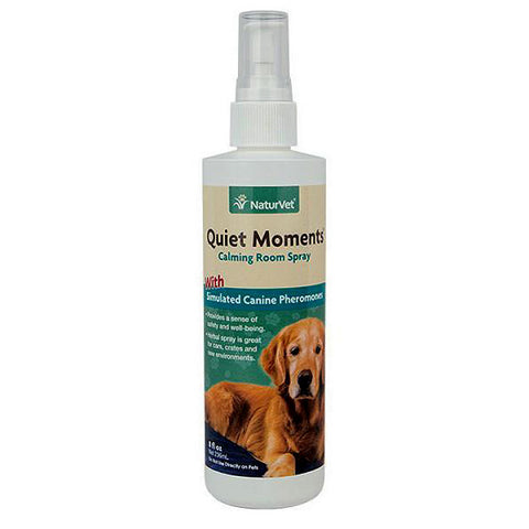 Quiet Moments Herbal Simulated Canine Pheromones Calming Aid Dog Spray