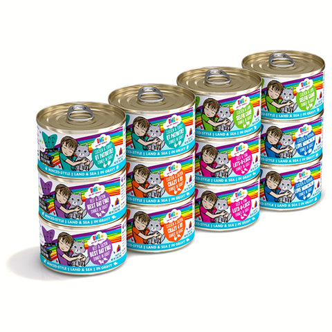 Rainbow Road Grain-Free Canned Cat Food Variety Pack