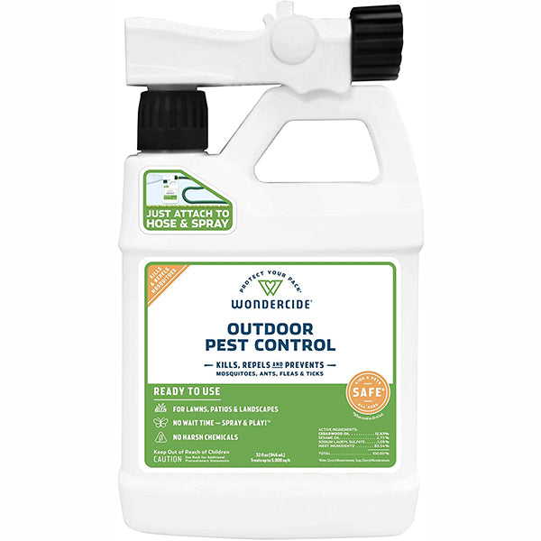 Natural Outdoor Flea & Tick Control for Yard & Garden Ready to Use