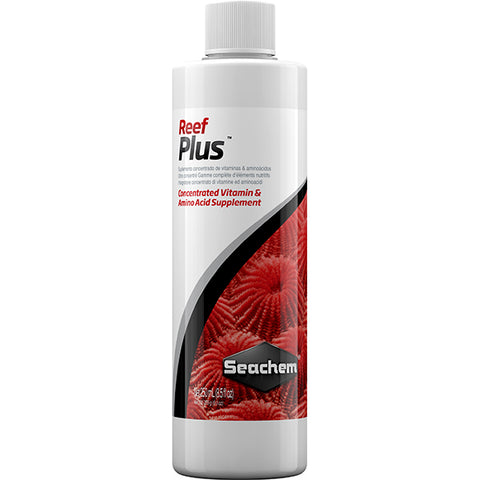 Reef Plus Vitamin Supplement for Coral Reef Water Treatment