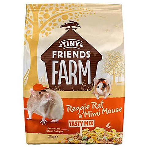 Tiny Friends Farm Reggie Rat & Mimi Mouse Food Tasty Mix