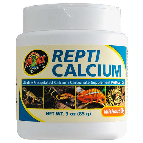 Repti Calcium without D3 Reptile Supplement Powder