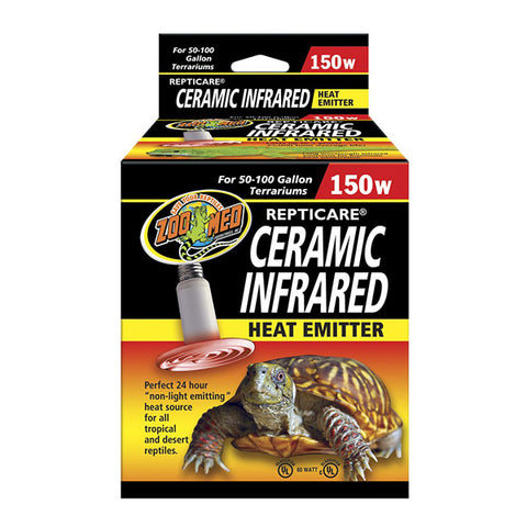 Repti Care Ceramic Infrared Reptile Heat Emitter 150 Watt