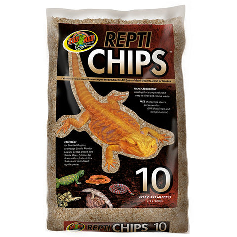 Repti Chips All Natural Wood Reptile Bedding & Substrate