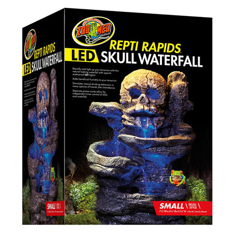 Repti Rapids LED Waterfall Skull Habitat Addition