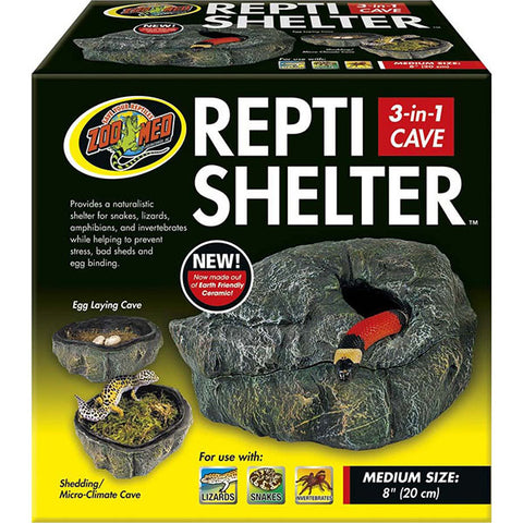 Repti Shelter 3-in-1 Cave Habitat Addition