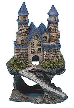 Resin Magical Castle Aquarium Decoration