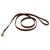 Circle T Rustic Leather Leash Chocolate