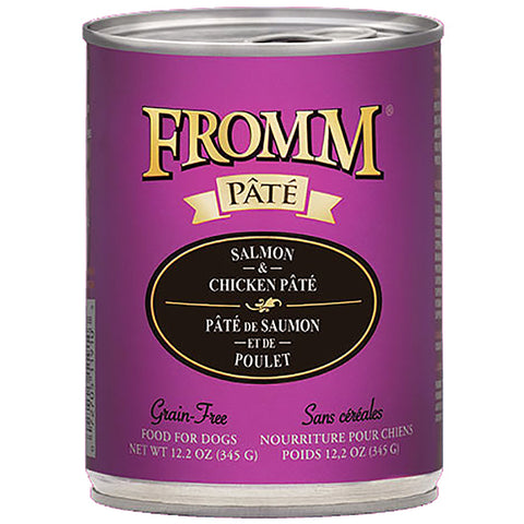 Salmon & Chicken Pate Grain-Free Wet Canned Dog Food