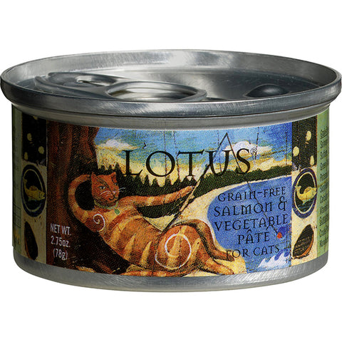 Salmon & Vegetable Pate Grain-Free Wet Canned Cat Food