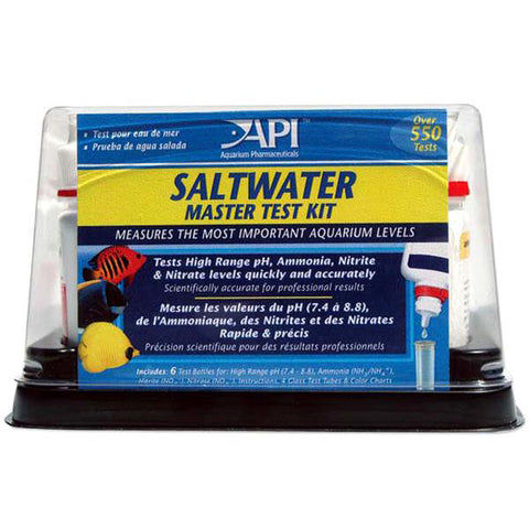 Saltwater Aquarium Master Test Kit