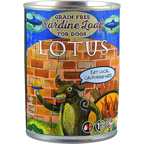 Sardine Loaf for Dogs Grain-Free Wet Canned Dog Food