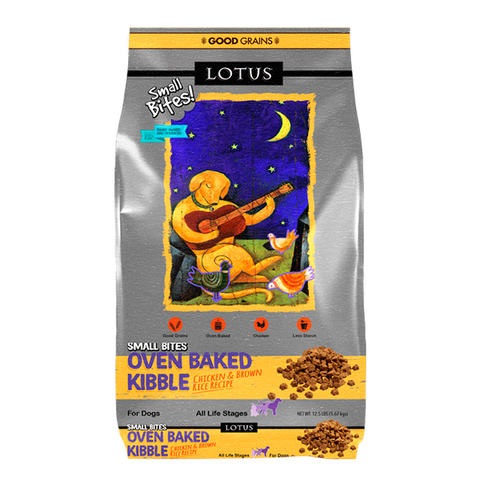 Oven-Baked Chicken Small Bites Adult Dry Dog Food