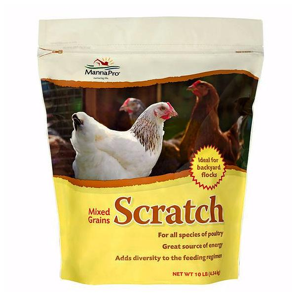 Mixed Grains Scratch Poultry Feed Supplement