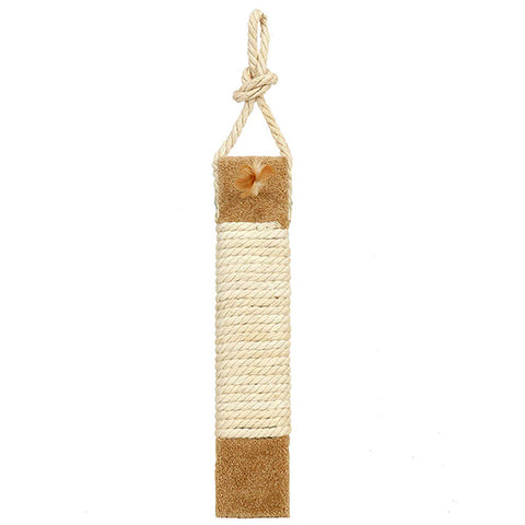 Kitty Carpeted & Sisal Scratch Surface Door Hanging Cat Scratcher