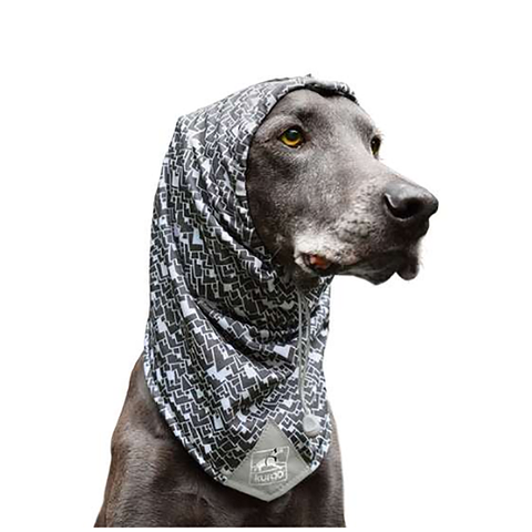 Scruff Scarf Stretchy Ear & Neck Warmer for Dogs