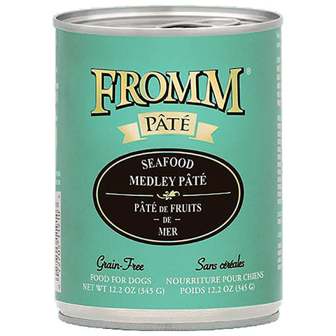 Seafood Medley Pate Grain-Free Wet Canned Dog Food