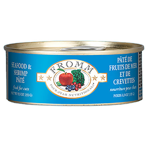 Seafood & Shrimp Pate Wet Canned Cat Food