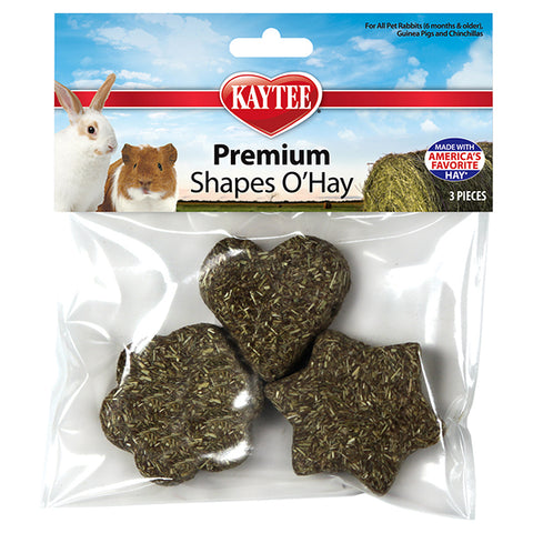 Premium Timothy Shapes O'Hay Small Animal Treats