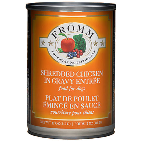 Shredded Chicken in Gravy Entree Grain-Free Wet Canned Dog Food
