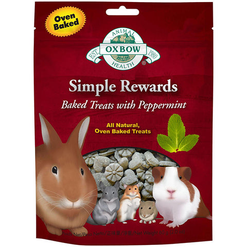 Simple Rewards All Natural Oven Baked Small Animal Treat Peppermint