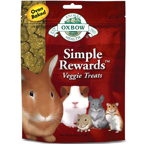 Simple Rewards Oven Baked Veggie Small Animal Treat