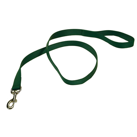 Single-Ply Nylon Leash Hunter Green