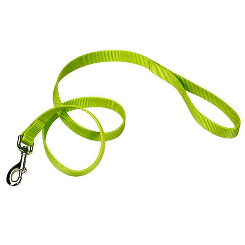 Single-Ply Nylon Leash Lime