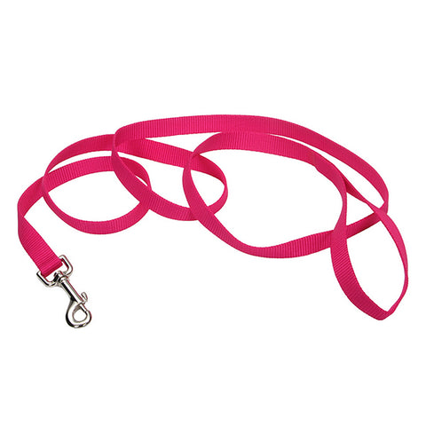 Single-Ply Nylon Leash Pink Flamingo