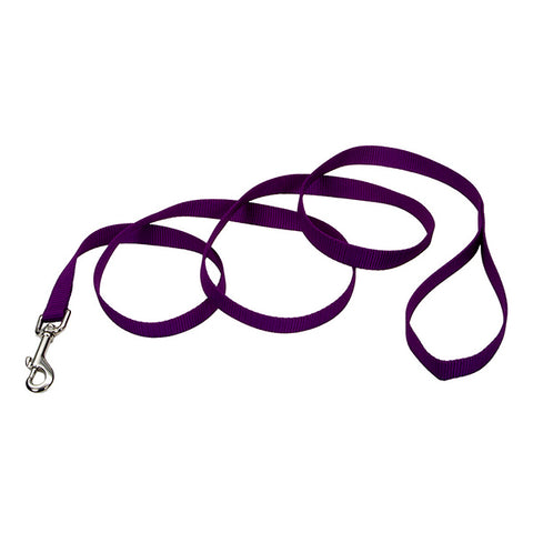 Single-Ply Nylon Leash Purple