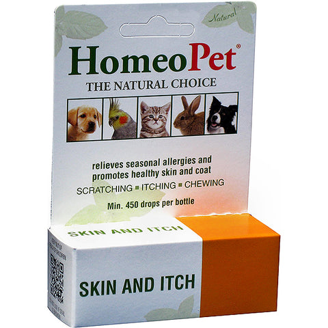 Skin & Itch Relief Formula Natural Liquid Drops for All Animals